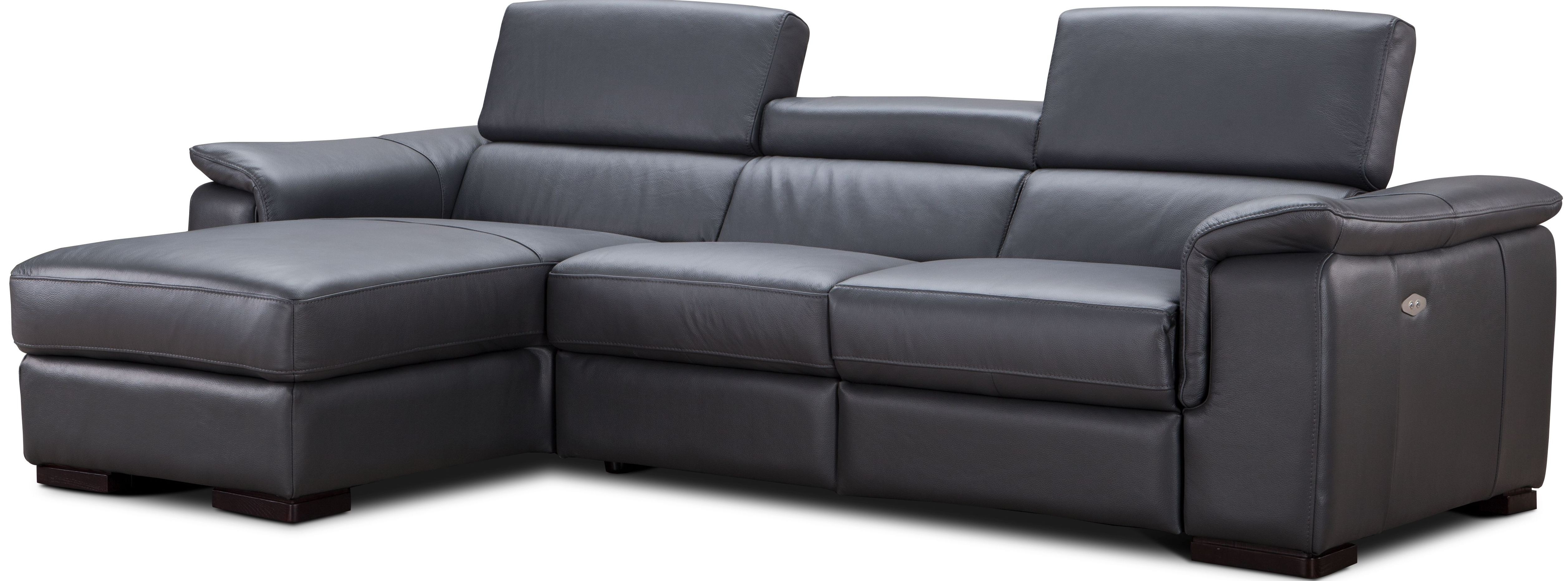 gray leather sofa recliner tantra di malaysia allegra slate power reclining laf sectional