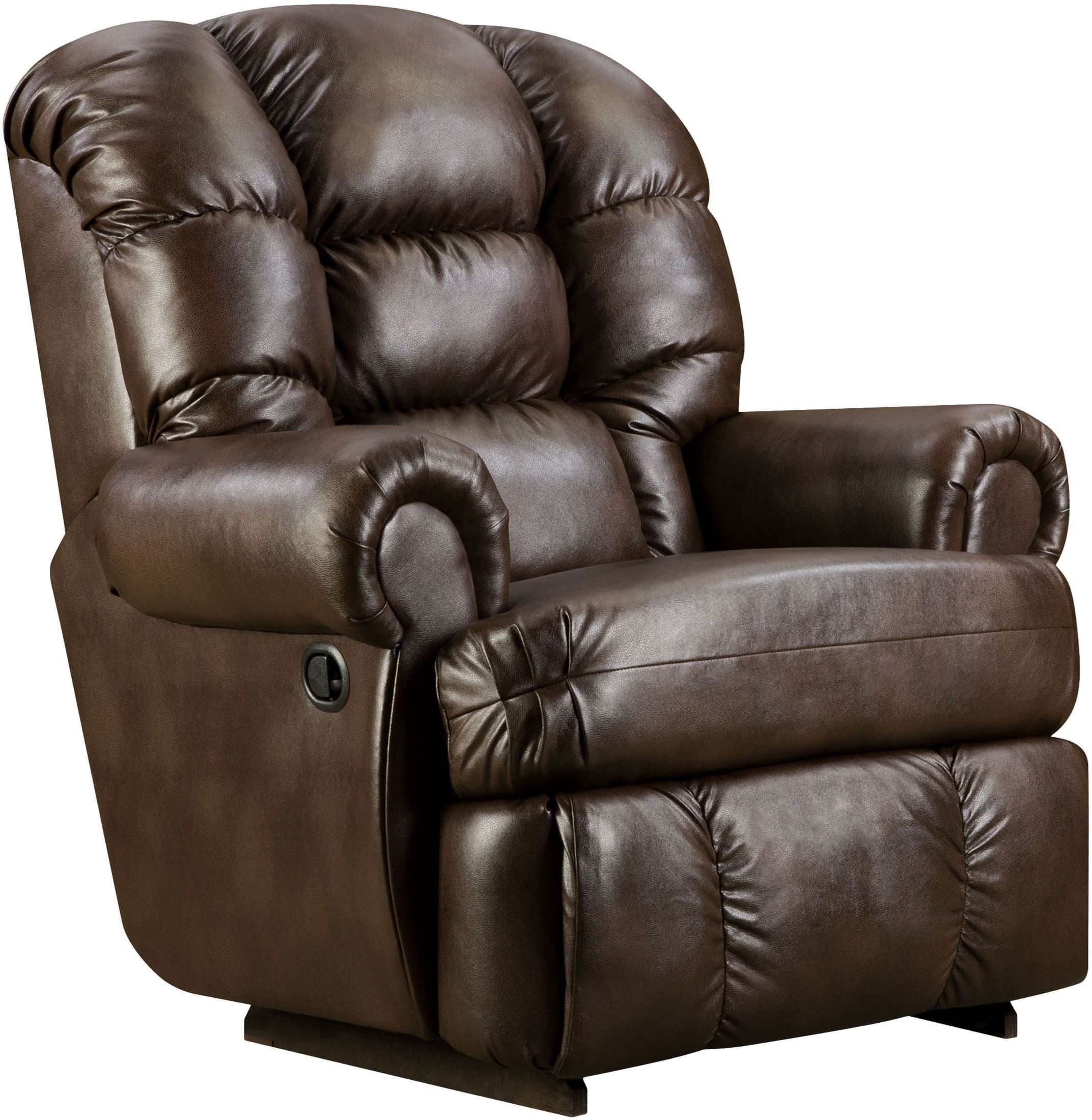 big and tall recliner chair brown leather chairs for living room capacity loggins espresso