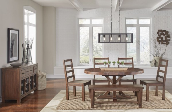Pedestal Dining Room Sets