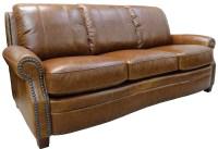 Ashton Italian Leather Sofa from Luke Leather | Coleman ...