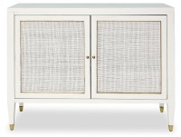 Atherton White Bar Cabinet from Brownstone (AT400WH ...