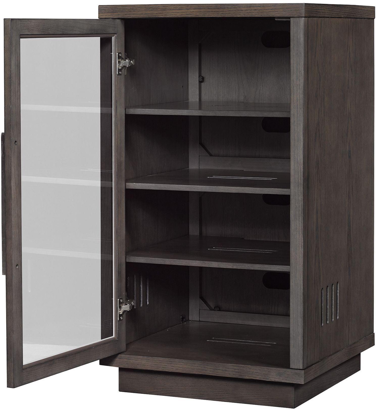 BellO Tifton Oak Arbordale Audio Video Component Cabinet