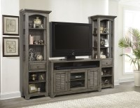 Austin Earl Grey 3 Piece Entertainment Wall from Parker ...