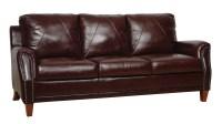 Austin Italian Leather Sofa from Luke Leather | Coleman ...
