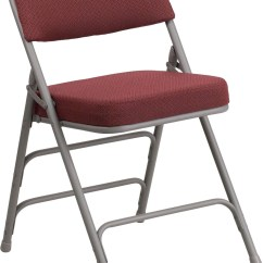 Folding Fabric Chairs Chair Design Long Hercules Series Premium Burgundy Upholstered Metal