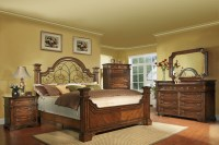 Highland Ridge Cherry King Panel Bedroom Set from Avalon ...