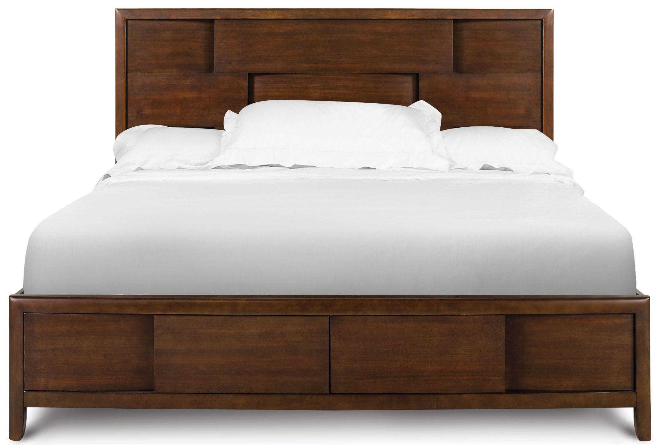 Nova Cal King Island Bed With Regular Footboard From