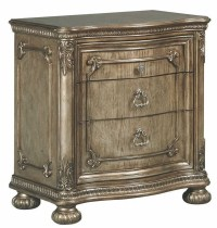 Seville Translucent Platinum Nightstand from Avalon ...
