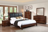 Noble Rustic Oak Platform Bedroom Set from Coaster ...