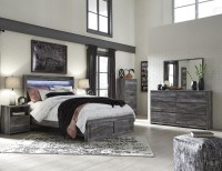 Baystorm Gray Platform Storage Bedroom Set from Ashley ...