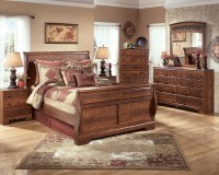 Timberline Queen Sleigh Bed from Ashley (B258-57-54-96 ...