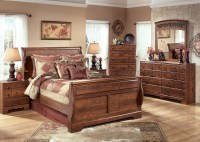 Timberline Sleigh Bedroom Set from Ashley (B258-SL ...