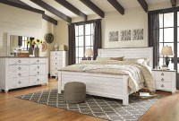 Willowton Whitewash Panel Bedroom Set from Ashley ...