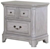 Windsor Lane Weathered Grey Wood Drawer Nightstand from ...
