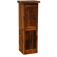 "Barnwood Right Hinged 24"" Linen Cabinet from Fireside ..."