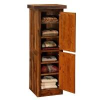 "Barnwood Right Hinged 24"" Linen Cabinet from Fireside"