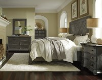 Cheswick Washed Linen Grey Panel Storage Bedroom Set from ...