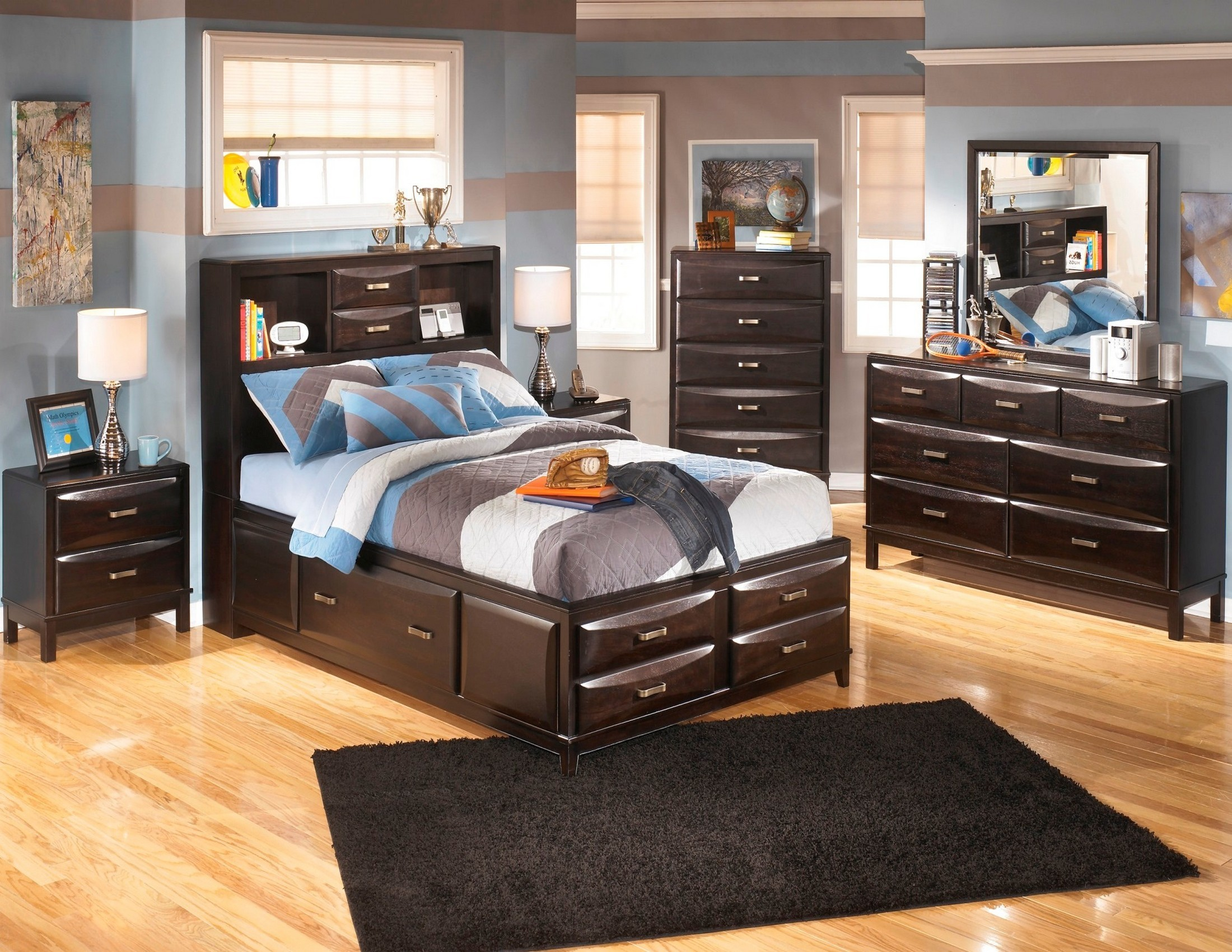 Kira Youth Storage Bedroom Set from Ashley B473