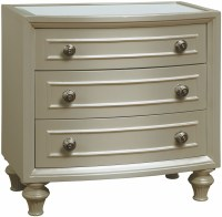 Regency Park Pearlized Silver Nightstand from Avalon ...