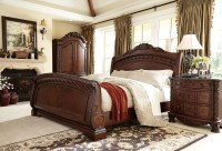 North Shore Sleigh Bedroom Set from Ashley (B553 ...