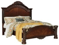 North Shore King Panel Bed from Ashley (B553-158-256-197 ...
