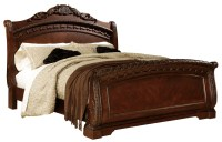 North Shore Queen Sleigh Bed from Ashley (B553-77-74-75 ...
