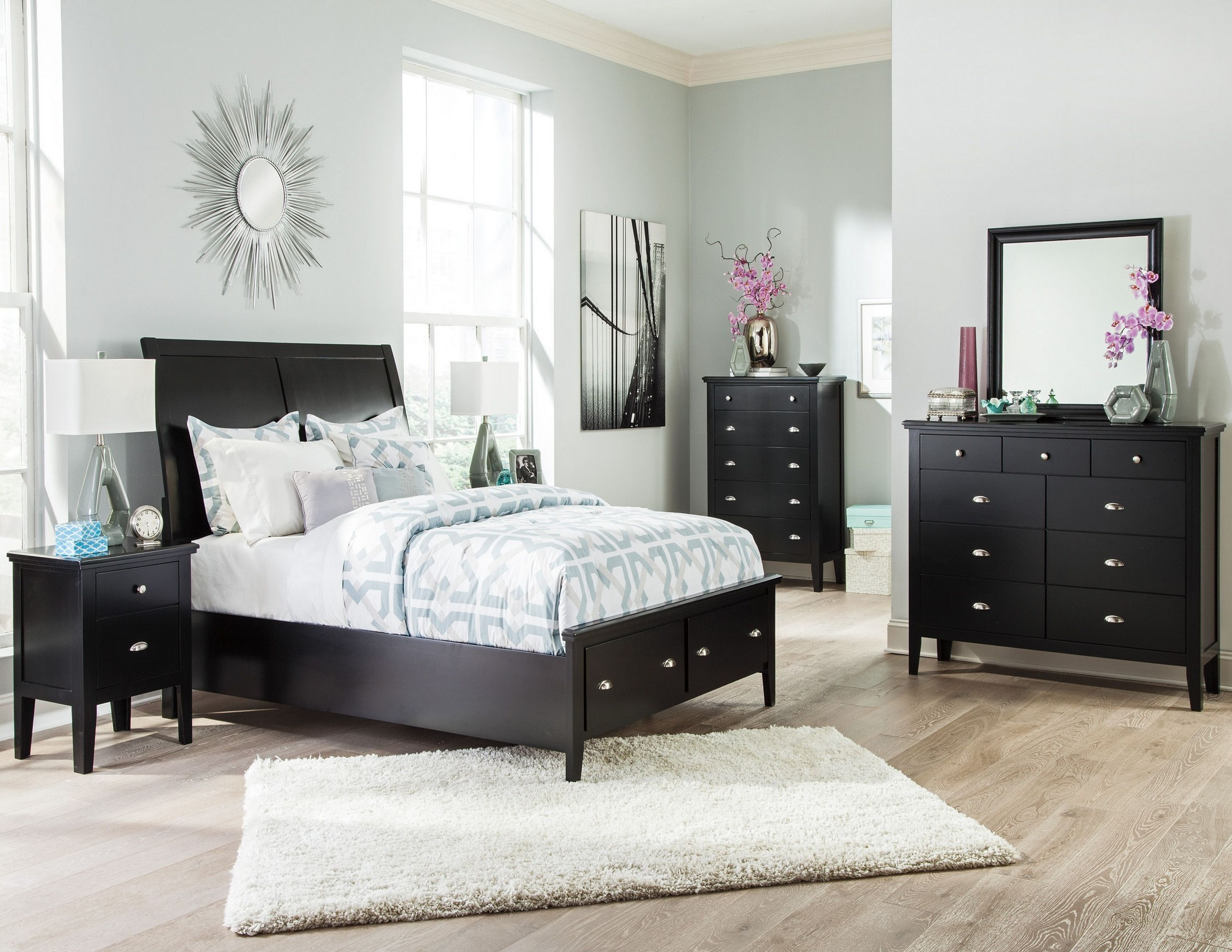 Braflin Sleigh Storage Bedroom Set From Ashley (b59157