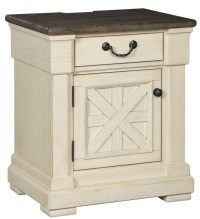 Bolanburg Two-tone One Drawer Nightstand from Ashley ...