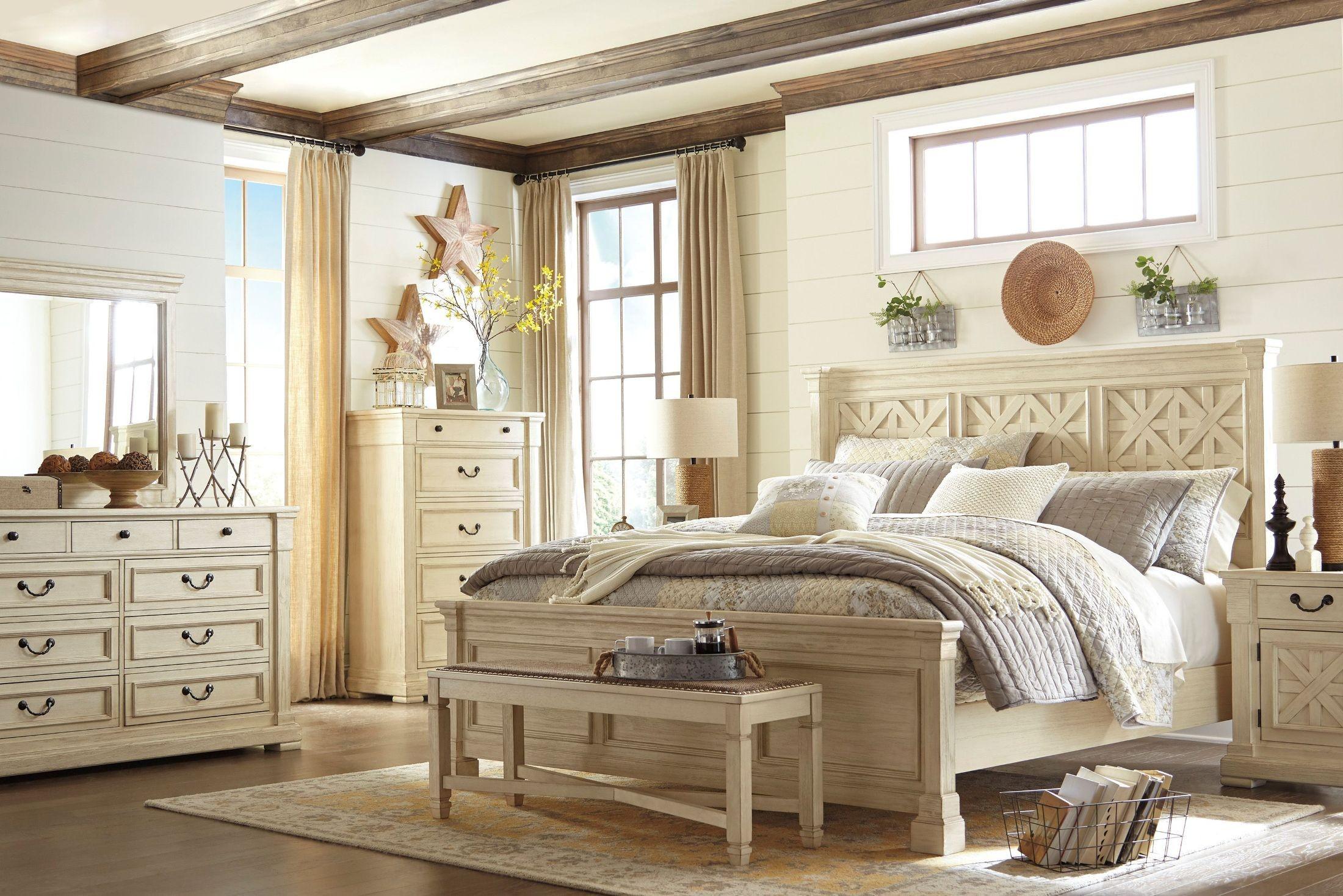 Bolanburg White Panel Bedroom Set from Ashley  Coleman