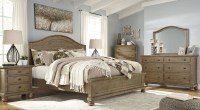 Trishley Light Brown Panel Bedroom Set, B659-57-54-96, Ashley