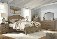 Trishley Light Brown Panel Bedroom Set from Ashley ...
