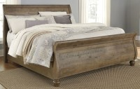 Trishley Light Brown King Sleigh Bed from Ashley   Coleman ...