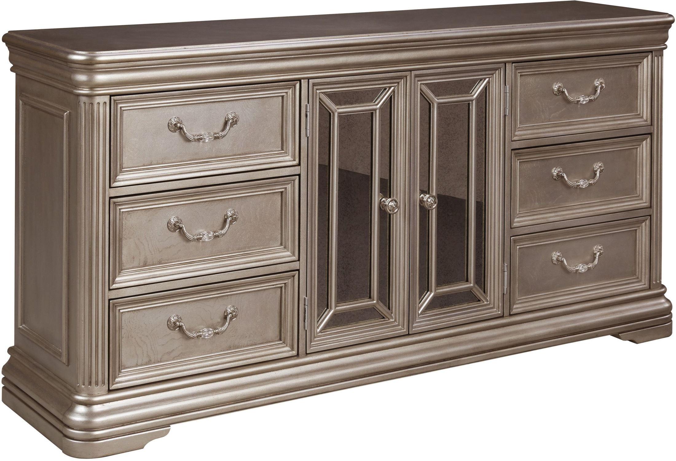Birlanny Silver Dresser from Ashley  Coleman Furniture