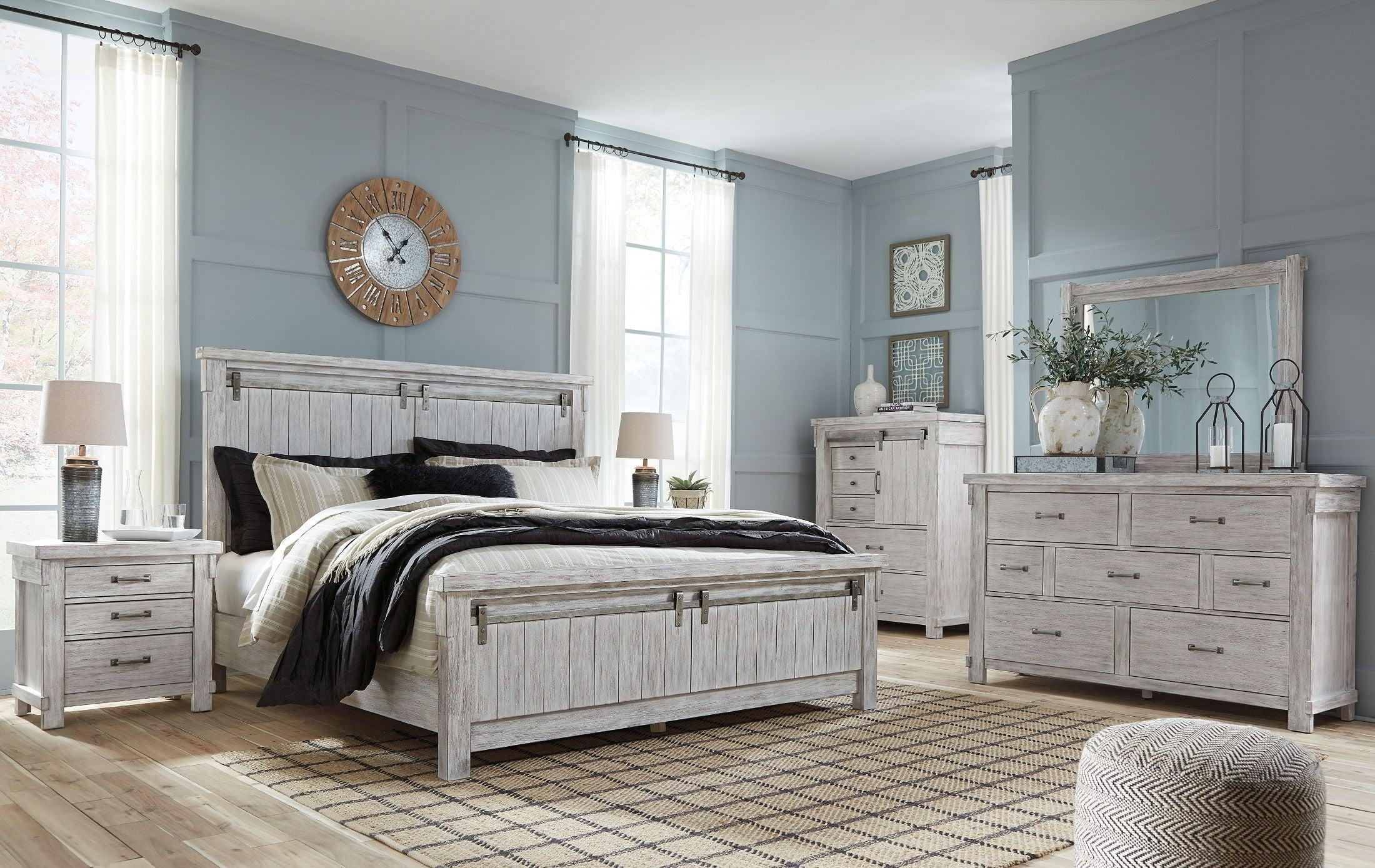Brashland White Panel Bedroom Set from Ashley  Coleman