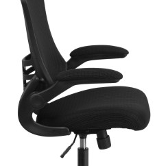 Swivel Office Chair Base Small Dining Tables And Chairs High Back Black Mesh Executive With