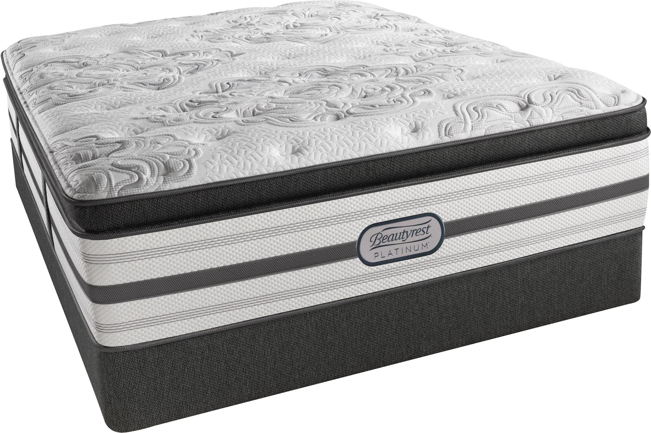 BeautyRest Recharge Platinum Gatsby Pillow Top Plush Queen