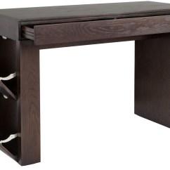 Espresso Pub Table And Chairs Harter Posture Chair Bradley Medium Bar 100634 Sunpan Modern Home