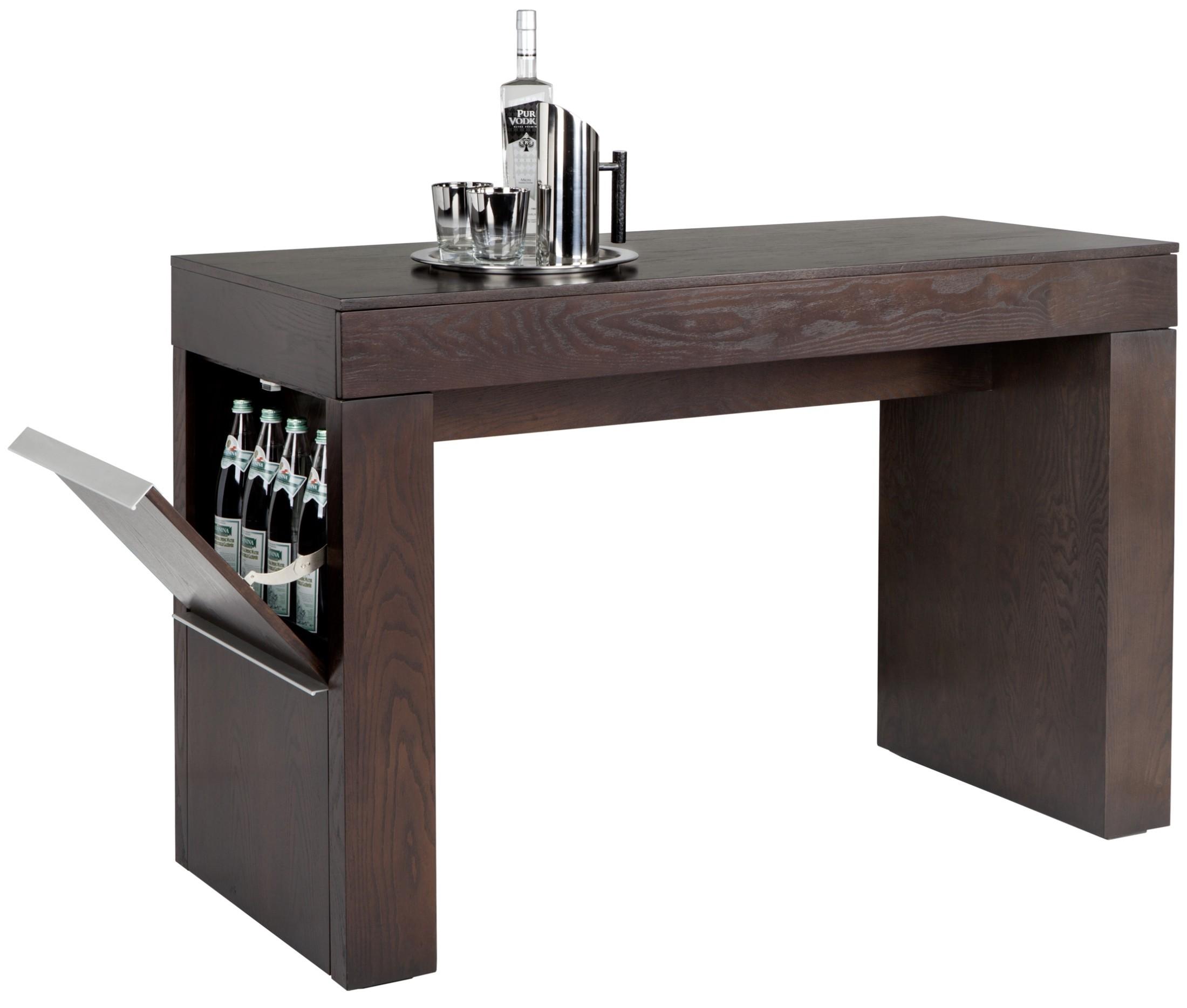 espresso pub table and chairs dallas cowboys recliner chair bradley medium bar 100634 sunpan modern home