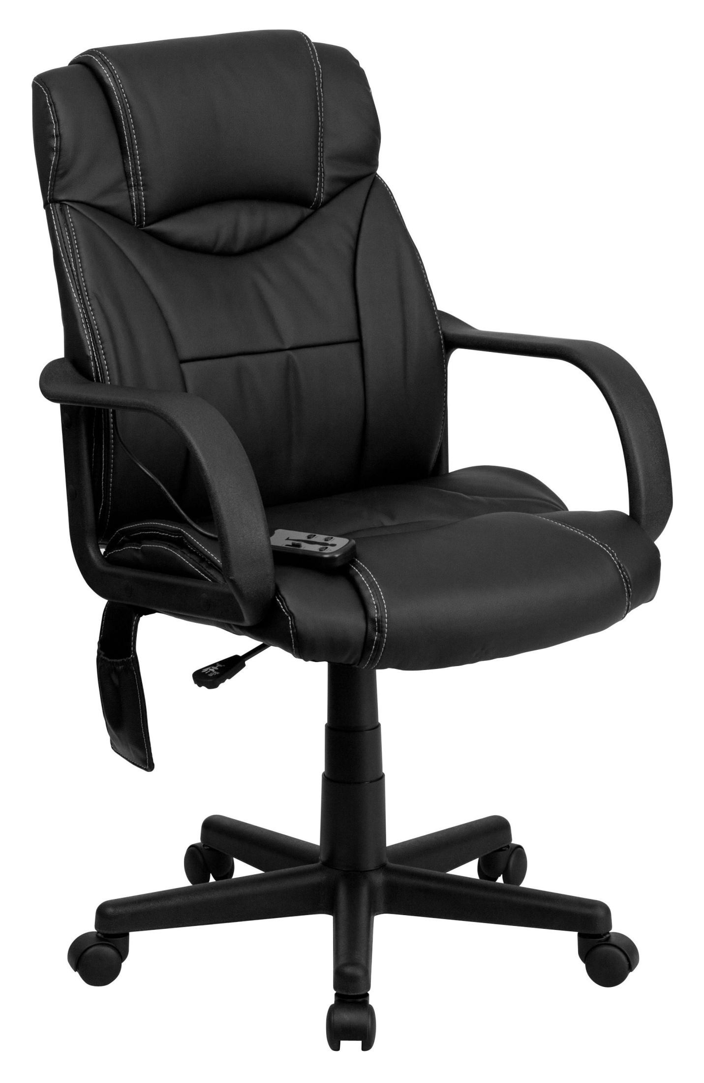 coleman lumbar quattro chair hello kitty high back massaging black executive office from