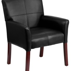 Black Bonded Leather Chair Step Two Desk And Executive Side Min Order Qty