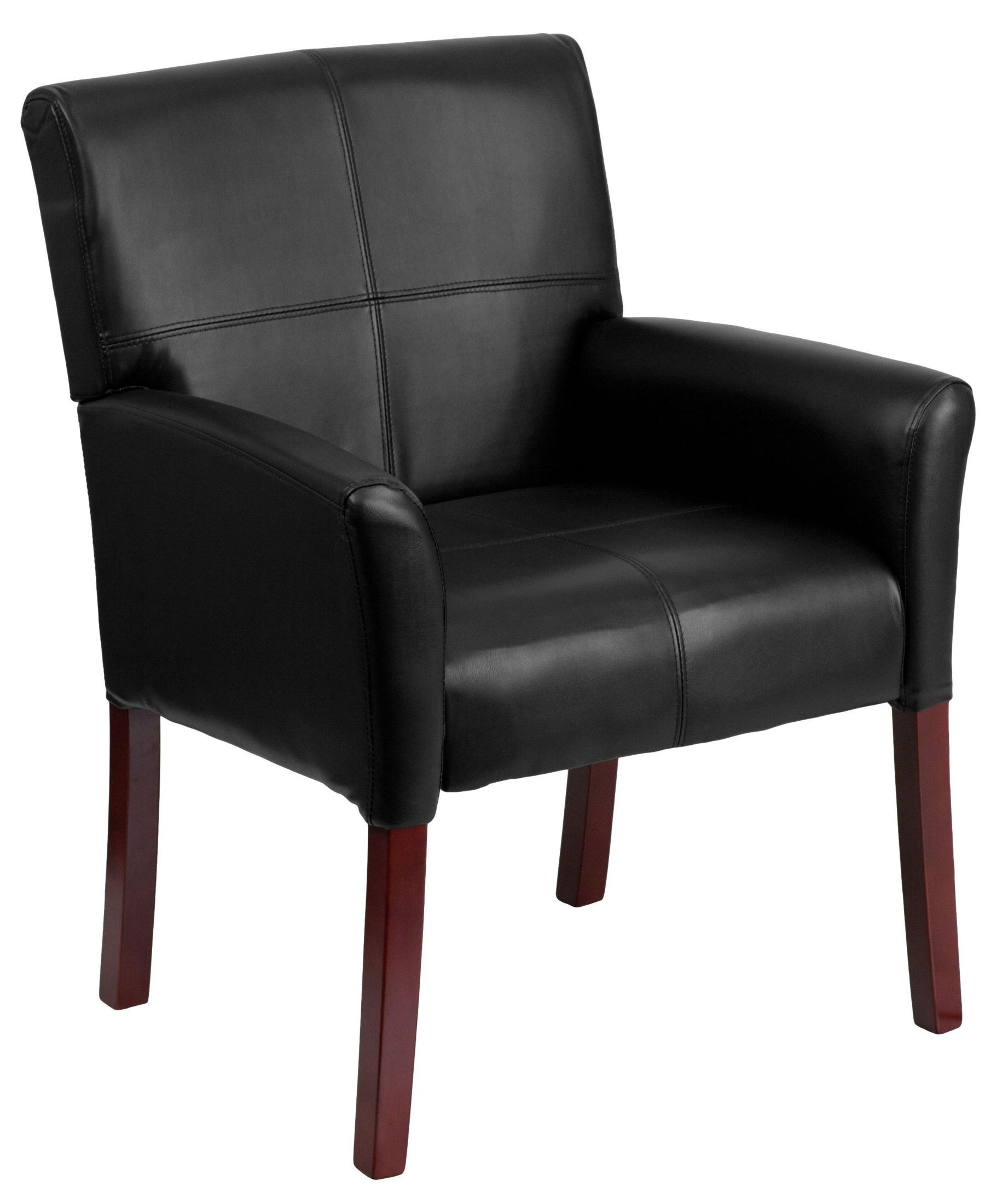 Leather Side Chair Black Bonded Leather Executive Side Chair Min Order Qty