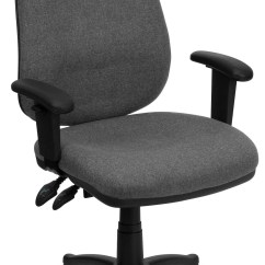 Coleman Lumbar Quattro Chair Reupholster Leather To Fabric High Back Gray Ergonomic Computer Arm From Renegade