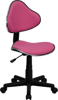 Pink Ergonomic Small Back Task Chair from Renegade ...