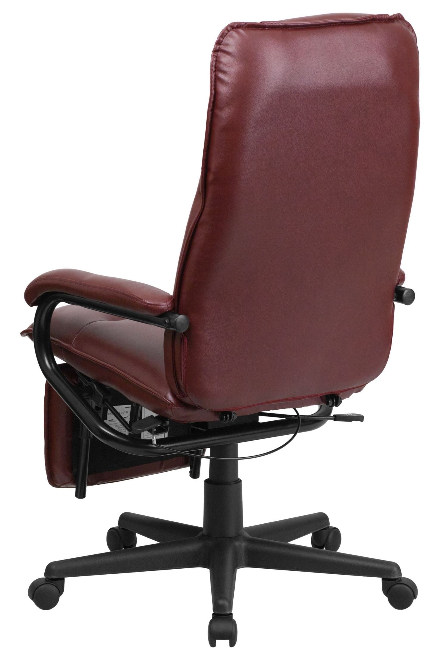 Burgundy Office Chair High Back Burgundy Executive Office Chair Reclining Bt
