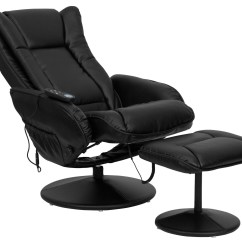 Massage Chair Cheap Office Mat For Wooden Floor Massaging Black Leather Recliner And Ottoman From Renegade