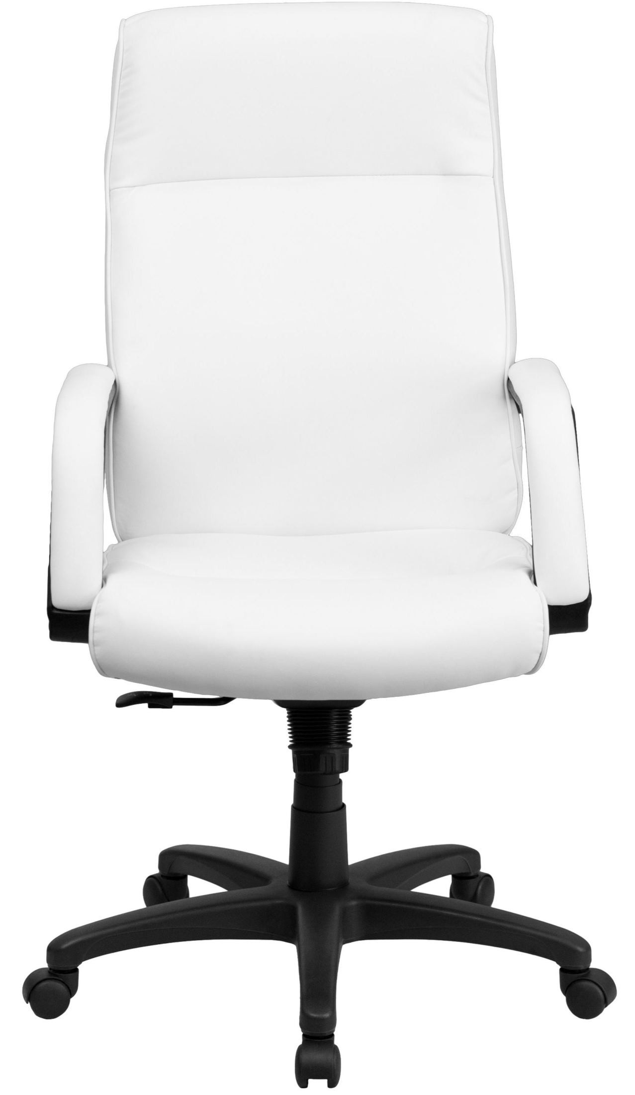 Office Chairs White High Back White Leather Executive Office Chair From