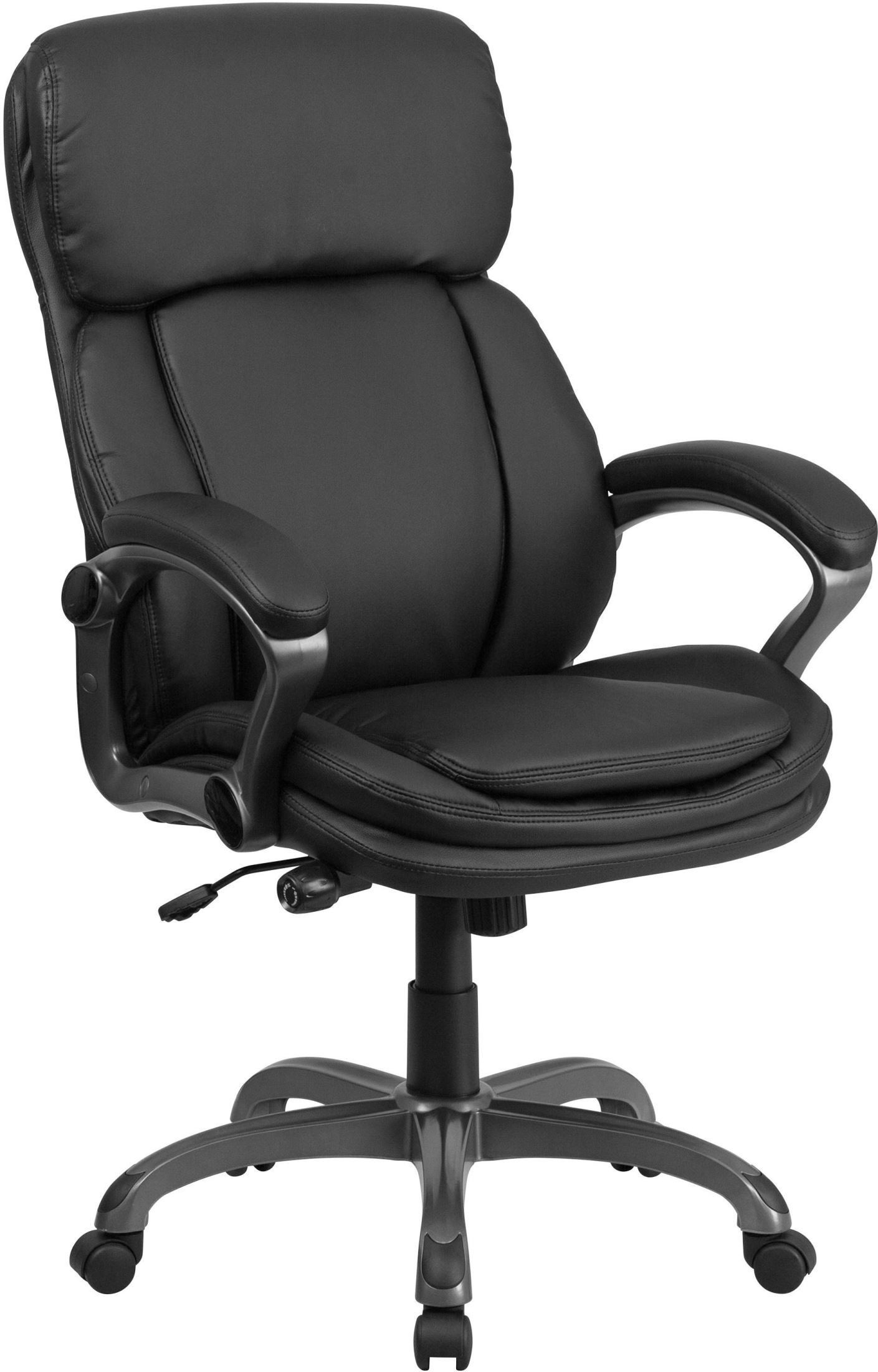 Tall Office Chair Tall Black Executive Swivel Office Chair With Lumbar