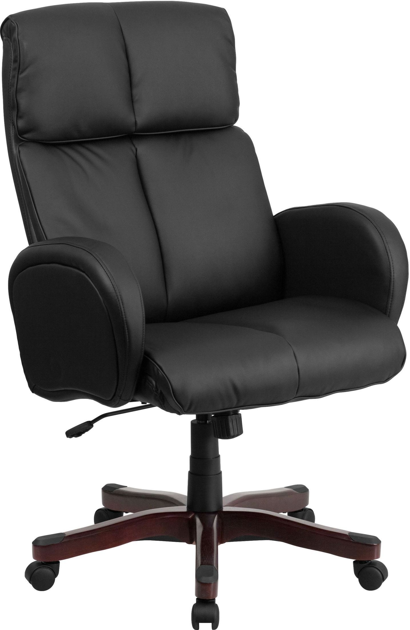 Tall Black Executive Swivel Office Arm Chair BT9028H1
