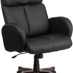 Tall Swivel Chair Knoll Chadwick Task Black Executive Office Arm Bt 9028h 1