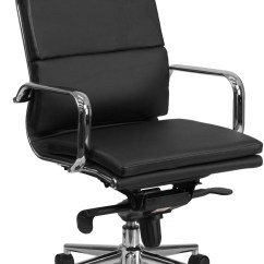 Office Chair Mechanism Wicker Dining Chairs Tall Black Executive Swivel With Synchro Tilt